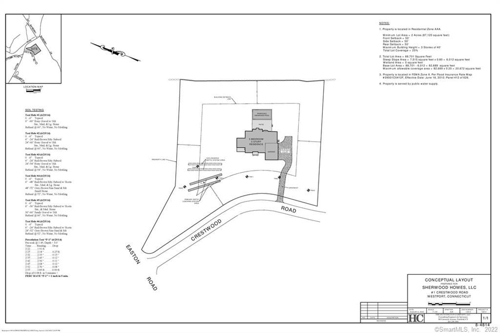 TOP END Properties1 Crestwood Rd, Westport, CT 06880